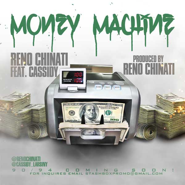 "(New Music)-@RENOCHINATI ""Money Machine"""