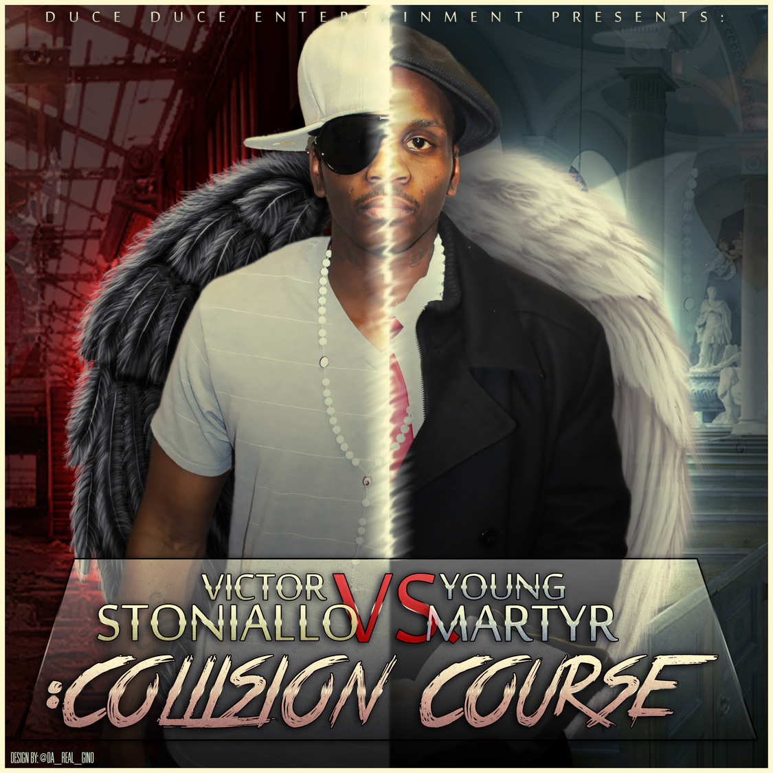 "(Mixtape Review)-@VSYMDDE27 "" VICTOR STONIALLO VS. YOUNG MARTYR: COLLISION COURSE"""